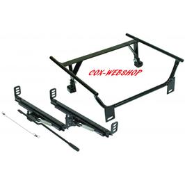 Embase adaptable de siège gauche ou droit rail en T pour buggy