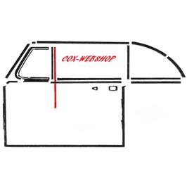 Set de 2 guides vitre petit modèle gauche ou droit T1 cabriolet toutes années 52- Qualité Supérieure