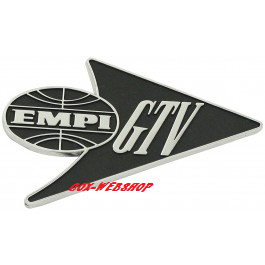 Sigle «EMPI GTV» pour coccinelle