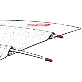 set de 12 embouts de baleines de ciel de toit pour combi split