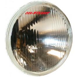"""Phare H4 Diamètre 7"""" pour ampoule à culot H4 avec emplacement pour la veilleuse  ->67"""