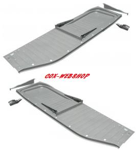 Demi-plancher cox complet «qualité origine» 56-70 rail en L
