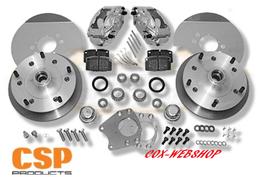 71 338 kit frein à disques avant 5x205 CSP pour coccinelle à rotules 68->