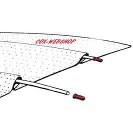 set de 12 embouts de baleines de ciel de toit de coccinelle