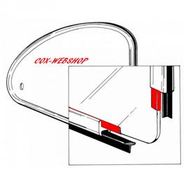 Set de 2 joints de pop out entre vitre et cadre pour cox de 65->77