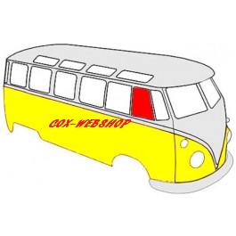 vitre de porte avant gauche ou droite coulissante pour combi split