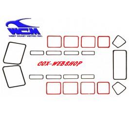 joint de vitre latérale fixe pour combi split de 50->67