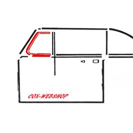 joint de déflecteur pour coccinelle cabriolet de 52->64   (G)