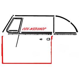 Joint de porte pour coccinelle cabriolet de 60->64  (I)