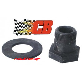 Boulon 38mm + rondelle de volant moteur CB PERFORMANCE
