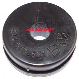 Joint de passage de la tuyauterie rigide de frein sur chassis