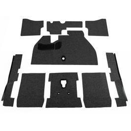 kit moquette deluxe 9 pièces pour coccinelle 1200/1300 de 73->78