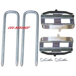 kit montage plaquettes de freins réf FR77200,  08/72->