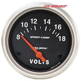 Voltmètre diamètre 67mm 8-18 volts