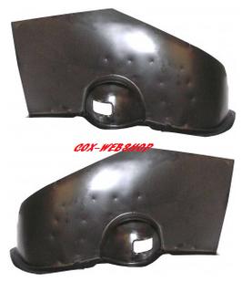 Renfort de support d'amortisseur arrière cox <-7/66 (sans barre stabilisatrice)