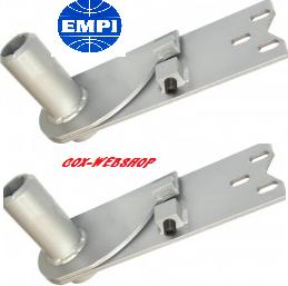 set de 2 lames de suspension réglables pour trompettes 627mm 49->59 modifiées en cardans