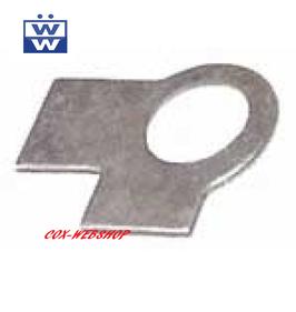 Plaquette de sureté de boulon de bras de direction pour combi split