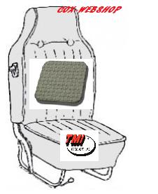 Kit housse de sièges avant et arrière gris clair tressé avec appuis tête incorporé