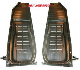 Demi-plancher complet cox 1200-1300 08/55->7/73 RAIL en L