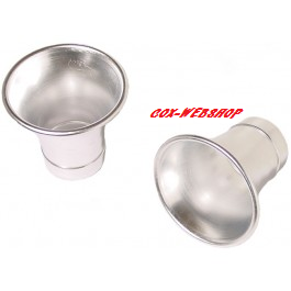 Set de 2 cornets «PRO VELOCITY STACKS» pour carburateur 48 IDA
