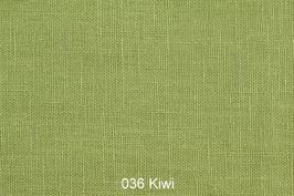 Leinenstoff -Kiwi-