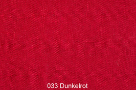 Leinenstoff -Dunkel Rot-