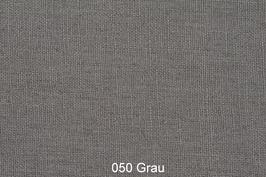 Leinenstoff -Grau-