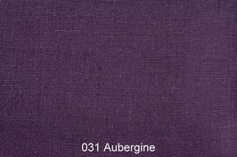 Leinenstoff -Aubergine-