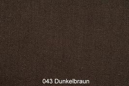 Leinenstoff -Dunkel Braun-