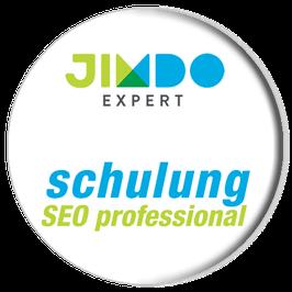 Suchmaschinenoptimierung für Jimdo lernen mit »SEO professional«.