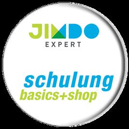 Jimdo und Shopfunktionen lernen mit »basics+shop«.