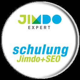 Jimdo und SEO für Jimdo in nur zwei Tagen lernen mit »Jimdo+SEO«.