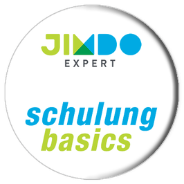Jimdo lernen mit »basics«.