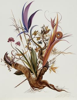 Kunstdruck - Flowerdream No. 4