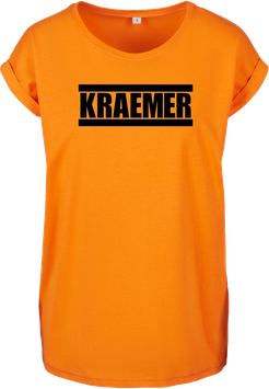Max Kraemer Ladies Shirt orange Logo groß