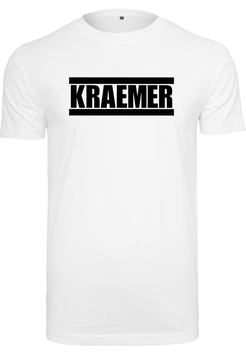 Max Kraemer Mens Shirt white - Logo groß