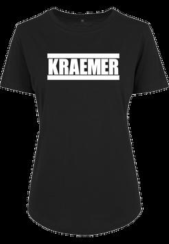 Max Kraemer Ladies Shirt black Logo groß