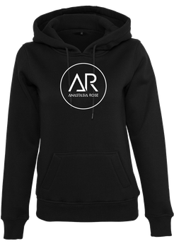 Ladies Hoodie black Anastasia Rose