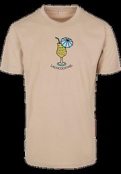 Lachcocktail Shirt sand - Unisex