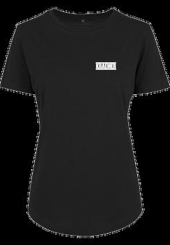 Max Kraemer Ladies Shirt black Logo klein