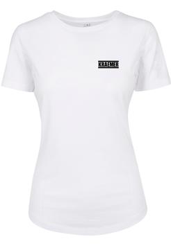 Max Kraemer Ladies Shirt white Logo klein