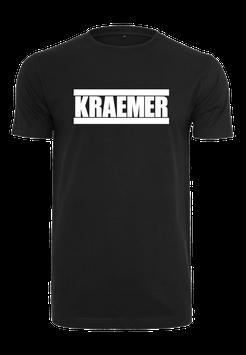 Max Kraemer Mens Shirt black - Logo groß