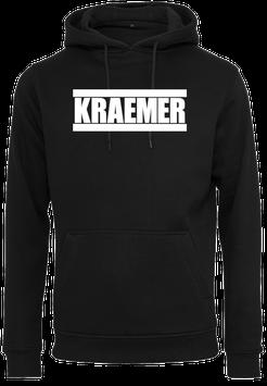 Max Kraemer Hoodie black Logo groß - Unisex
