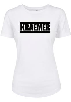 Max Kraemer Ladies Shirt white Logo groß