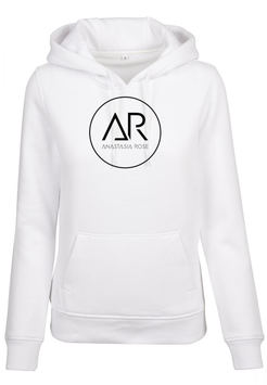 Ladies Hoodie white Anastasia Rose