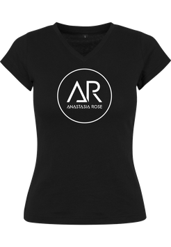 Ladies Shirt black  Anastasia Rose