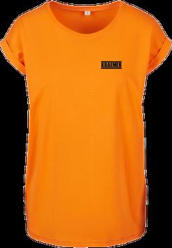 Max Kraemer Ladies Shirt orange Logo klein