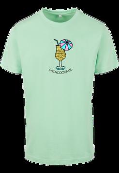 Lachcocktail Shirt neo mint - Unisex