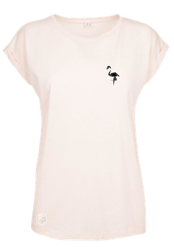 AP pink Shoulder Tee Flamingo