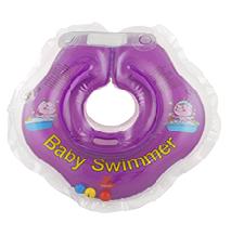 Baby Badekragen Lila Klein 0-2 Jahre(3-12 kg)